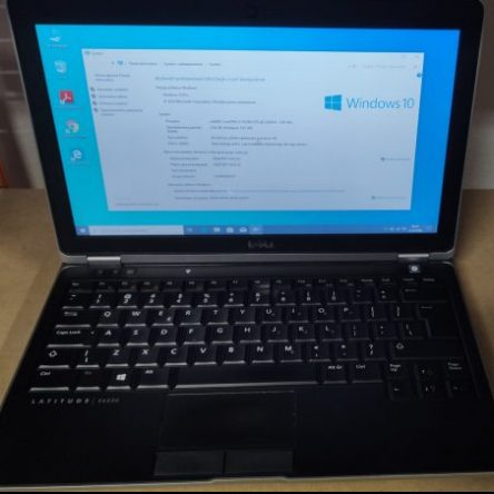 LAPTOP 12,5″ DELL LATITUDE E6230 I5-3320M WINDOWS 10 PRO PL UŻYWANY
